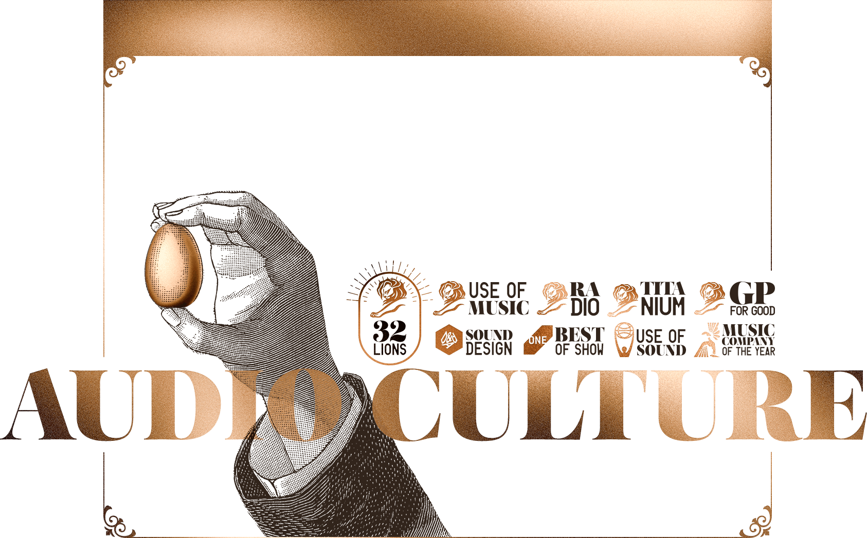 Audio Culture | 23 Lions | One Best of The Show | Best Original Music | Best Use of Music